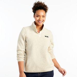 LL Bean • Sweater Fleece Pullover Jacket